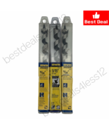 """(New) Irwin 49909  9/16"""" Auger Drill Bit 5/16"""" (Pack of 3) - $28.70"""