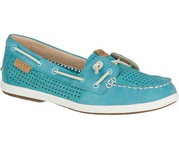 SPERRY WOMEN COIL IVY PERFORATED BOAT SHOE (STS99178) SIZE 5 M - $60.00