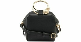 Nine West Moxie Top Handle Mini Crossbody Bucket Bag, Black - $29.00