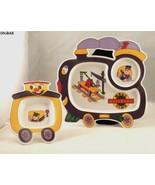 Oneida Heavy Plastic Child's Railroad Design Plate and Saucer - $14.99