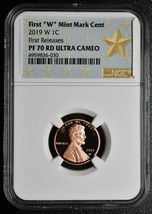 2019 W Lincoln Cent Proof NGC PF70 RD First Releases Coin 4959836-030 SKU C15