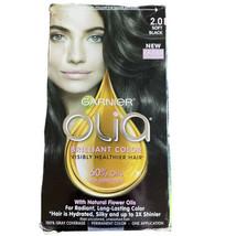 Garnier Olia 2.0 Soft Black Permanent Hair Color Brilliant Color - Natur... - $9.87