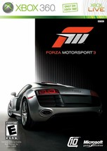 Forza Motorsport 3 (Xbox 360, Microsoft Game Studios, Used, 2009, Player... - $7.91