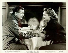 Alexis SMITH Clark GABLE Original ANY Number Ca... - $24.99