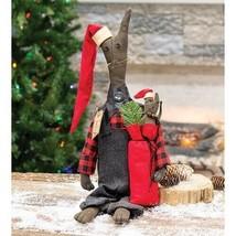 "farmhouse primitive country rustic Christmas FELIX Barn CAT 20"" fabric doll - $48.99"