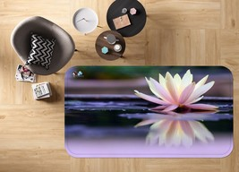 3D Pink Lotu 03 Non Slip Rug Mat Room Mat Quality Elegant Photo Carpet U... - $106.68+