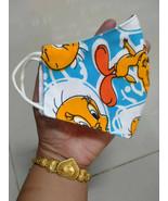 FACE MASK Cover Tweety canary bird Classic SOFT Fashion custom fun ART s... - $5.84+