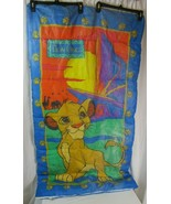 "Vintage Disney The Lion King Child Size Sleeping Bag 28"" x 54"" Simba 1990's - $20.78"