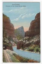 First Tunnel Railroad Grand River Canyon Colorado 1910c postcard - $5.94