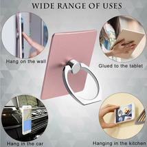 10 Pcs Cell Phone Ring Holder Phone Ring Stand Holder Finger Ring Phone Grip image 3