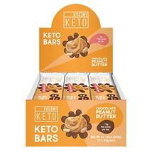 Kiss My Keto Snacks Keto Bars – Keto Chocolate Peanut Butter, Nutritional Keto F - $39.99