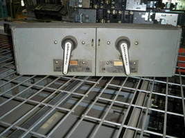 Continental FQV3222 60/60A Twin 3P 240V Fusible Panelboard Switch Used - $450.00