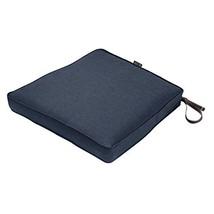 "Classic Accessories Montlake Patio FadeSafe Seat Cushion, Indigo 17""Wx15""Dx2""T - $41.84"