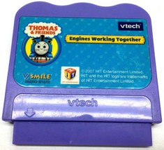 VTECH VSMILE THOMAS & FRIENDS ENGINES WORKING TOGETHER 2007 GAME CARTRIDGE - $4.74