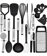 Best Kitchen Complete Cooking Accesories Utensil Set 23 Pieces NON STICK... - $41.53