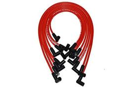A-Team Performance 8.0mm Red Silicone Spark Plug Wires Compatible with Chevrolet