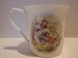 Beatrice Potter Mug Mrs Tiggy-Winkle Hedgehog by Queens Kitchen 2009 - $19.35