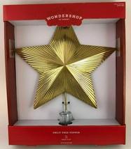 Star Tree Topper Gold Textured Foil Unlit Christmas Holiday Wondershop Target image 2