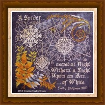 Arc of White cross stitch chart Tempting Tangles - $13.50