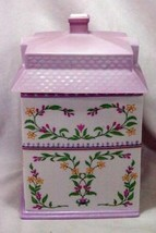 Lenox 1990 The Lenox Village Victorian House Coffee Canister image 2