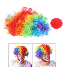 (hair)Christmas Party Curly Hair Halloween Costume Party Decoration Clow... - $18.00