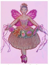 Spirit of The Sugar Plum Fairy Chart only cross stitch Brooke's Books - $7.20