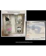 Overwatch Shot Glasses 2 oz Includes Tracer, D.Va, Mercy, Symmetra Chara... - $11.99