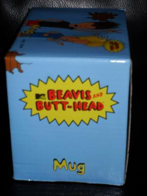 MTV Beavis & Butt-Head Mug New In the Box