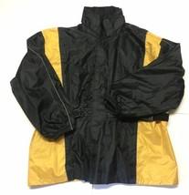 Xelement Mens Black Yellow Motorcycle Advanced Gear Suit Jacket XXL - $49.49