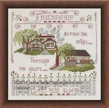 Across The Miles cross stitch chart Tempting Tangles - $10.80