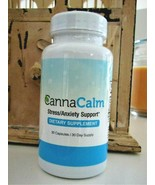 NEW CannaCalm Stress/Anxiety Support~Dietary Supplement~30 Caps~30 Day S... - $49.99