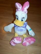 Disney Store Core Daisy Duck Plush Stuffed Animal EUC Mickey Mouse & Fri... - $22.00