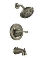 Delta Porter 144984C-BN-A 3-Spray Tub & Shower Faucet Brushed Nickel #79 - $118.79