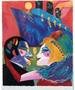 """EARL LINDERMAN """"LOVE ON THE BOAT"""" SIGNED NUMBERED SERIGRAPH 24/200. - $1,062.25"""
