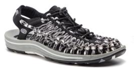 Keen Uneek Flat Cord Size US 7 M (B) EU 37.5 Women's Sport Sandals Shoes Black image 2