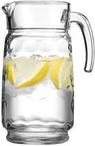 HOME ESSENTIALS ECLIPSE 66 OZ GLASS WATER PITCHER - $15.69