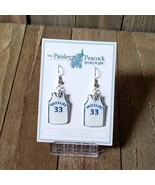 Memphis Grizzlies Marc Gasol 33 Earrings Handmade 2018 - $7.99
