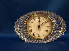 Shannon Desk Clock Oval Shaped - $6.99