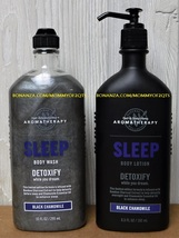 Bath Body Works Aromatherapy Sleep Black Chamomile Detoxify Body Wash an... - $26.00