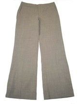 NWT Banana Republic 8 Martin Fit Trouser Pants Gray Cuffed Wool  - $26.99