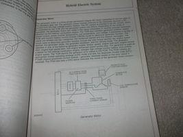 2010 Ford Escape Mercury Mariner & Hybrid Service Shop Repair Manual SET OEM image 9
