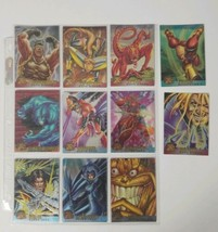 95 Fleer Ultra X MEN Lot of 11 Individual Ungraded Trading Cards - $8.59