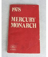 1978 Ford Mercury Monarch 75 Anniversary Owner's Manual - $14.84