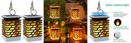 Lampe Solaire LED Exterieur Flammes à 75 LED,Lanterne Etanche IP55...  - $47.84