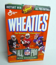 Wheaties 1995 All Pro NFL Wide Receivers Tim Brown  Jerry Rice Andre Reed Box - $3.28