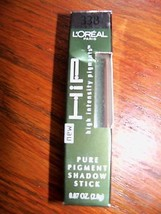 L'Oreal HIP Pure Pigment Eye Shadow Stick Mesmerizing #338 High Intensity New - $9.00