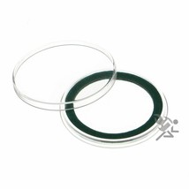 (15) Air-tite 39mm Green Velour Colored Ring Coin Holder Capsules for 1oz - $15.95
