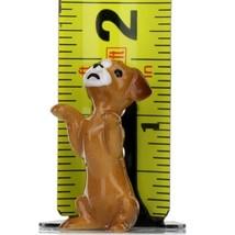 Hagen Renaker Dog Puppy Begging Ceramic Figurine image 2
