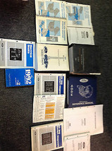 1992 FORD MUSTANG Service Shop Repair  Manual Set W Wiring Diagram + Tra... - $356.35