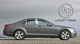 Mercedes S Class W221 Stainless Chrome Pillar Posts by Luxury Trims 2007... - $69.80